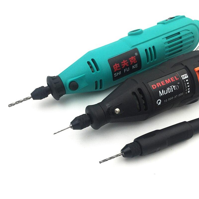 1pc Drill Accessory Universal Multi Keyless Universal Chuck Mini Drill Collet Rotary Tools for Dremel Drill 8X0.75MM hand tools