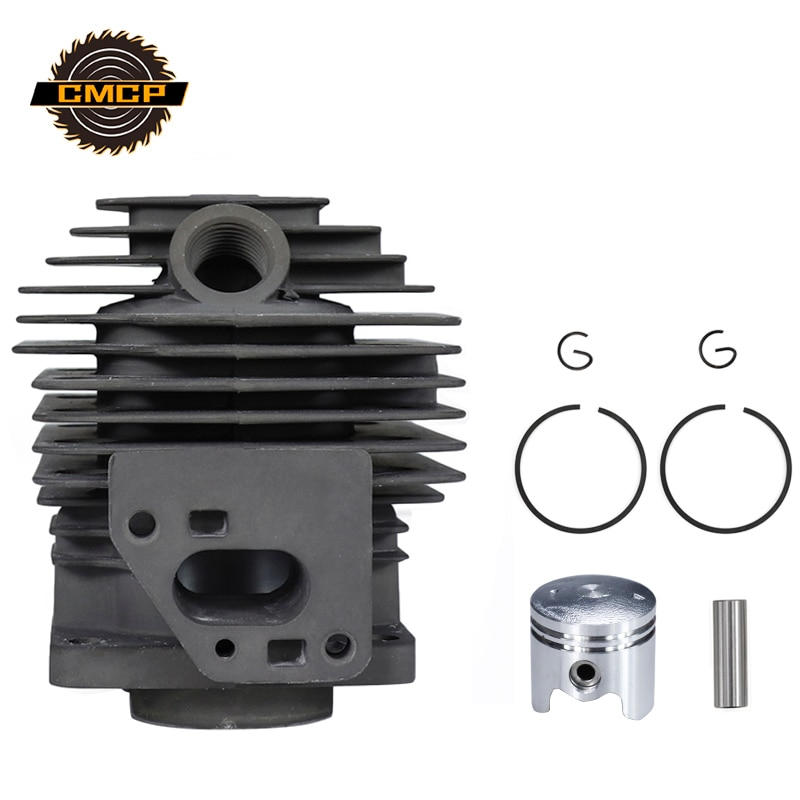 Juego de pistones de cilindro de cortacésped CMCP para TL33 CG330 1E36F Dia 36mm, juego de cilindros de cortacésped