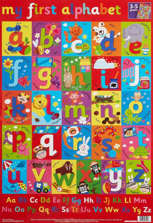 Póster de seda para niños, decoración de pared del hogar, arte educativo...