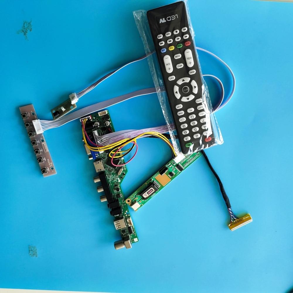 ل LP154W02-B1K1 إشارة رقمية VGA AV TV تحكم 1 مصابيح 15.4