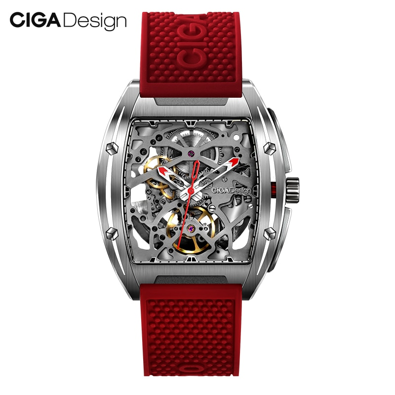 Original CIGA Design Z Series men's smart watch clock Automatic Mechanical Watch Self-wind Wrist Wat