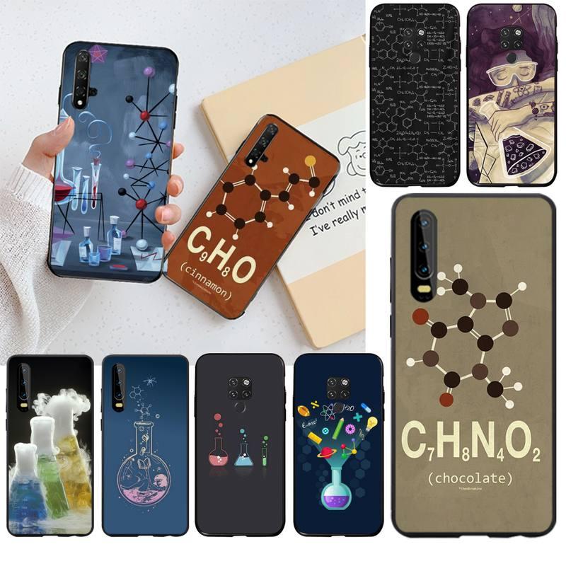 HPCHCJHM, carcasa de teléfono de alta calidad con diseño de ciencia química para el cliente, para Huawei P30 P20 lite Mate 20 Pro lite P Smart 2019 prime