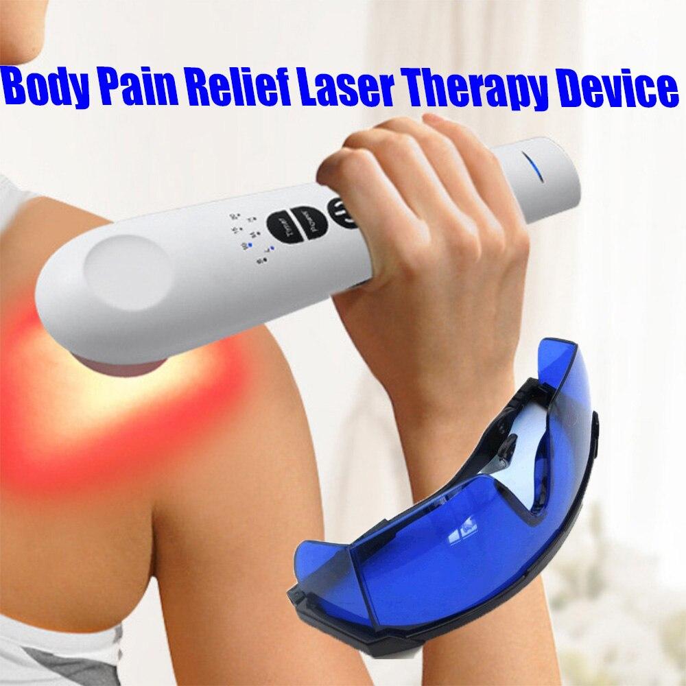 LLLT-جهاز العلاج بالضوء الأحمر بالليزر البارد ، جهاز العلاج الطبيعي لتخفيف آلام الجسم ، يستخدم للحيوانات الأليفة ، 3 طاقة ، 4 مؤقت