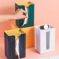 kitchen multifunctional paper towel holder bathroom no punch bathroom paper towel holder storage toilet paper drawer