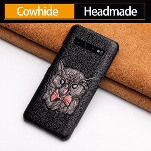 Phone Case For Samsung Galaxy A50 A70 S7 S8 S9 S10 Plus Note 8 9 10 Animal icon texture Case for A30 A40 A5 A7 2017 A8 2018