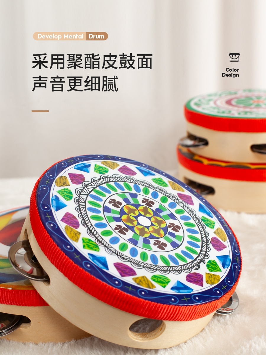 Hanfu Tambourine Ancient Style Chinese Style Tang and Song Style Dunhuang Style Tabor Ribbon Ribbon Tassel Accessories enlarge
