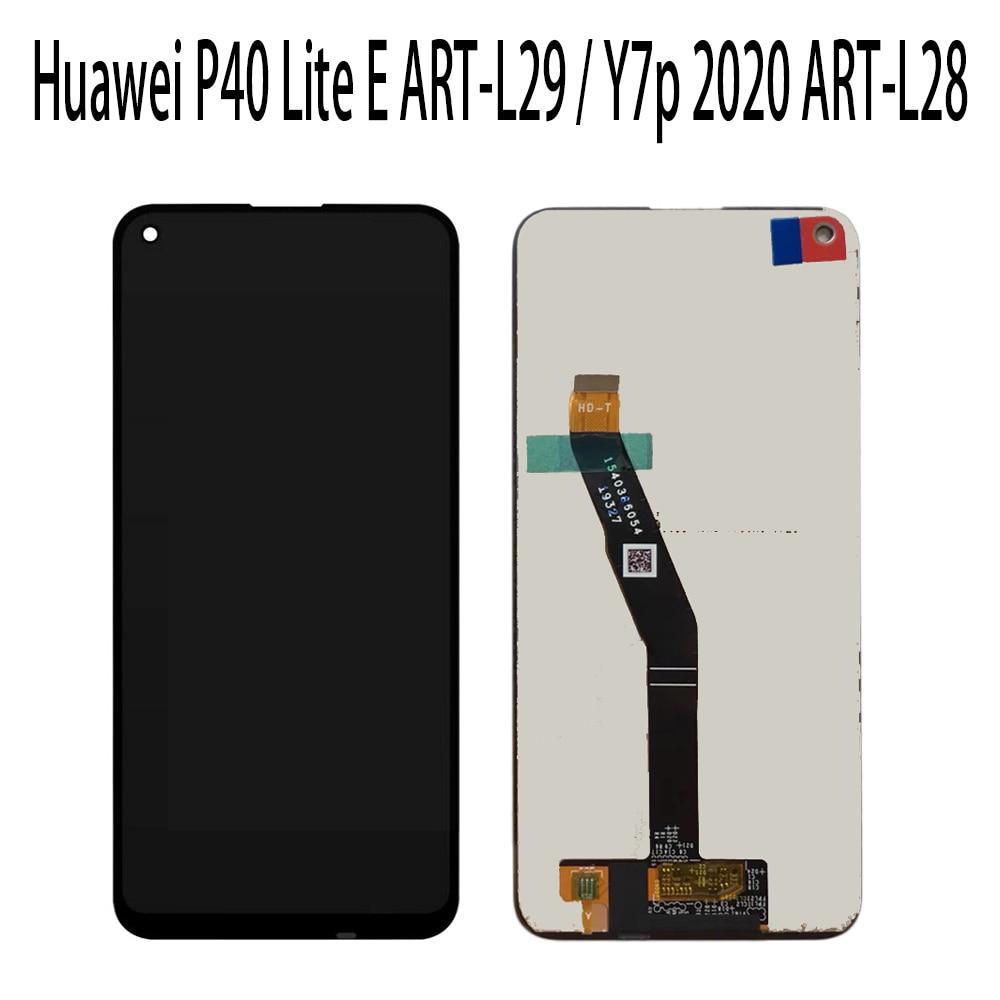 Nueva pantalla LCD completa de 6,39 pulgadas + MONTAJE DE digitalizador con pantalla táctil para Huawei P40 Lite E ART-L29 / Y7p 2020 ART-L28
