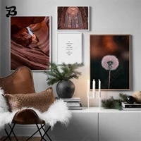 canvas painting wall art church dandelion canyon nordic posters and prints wall pictures for living room bedroom home wall decor