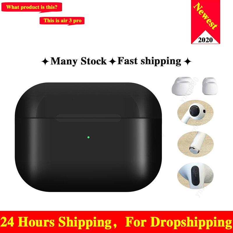 Neue Original Air 3 tws pro Arie 2 Drahtlose Bluetooth Headsets Kopfhörer 1:1 Smart Sensor Blackpods Ohrhörer Touch Für Elair fone