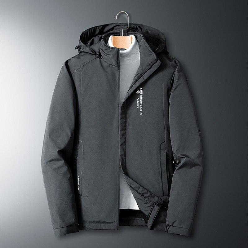 Мужская зимняя куртка с подкладкой, черная, синяя, красная куртка большого размера, размеры 6XL, 7XL, 8XL, 2020