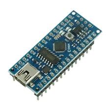 Nano V3 ATmega168 CH340 CH340G Mini Interface USB UART Module de carte compatible 16Mhz 3.3V-5V microcontrôleur réinitialiser USB
