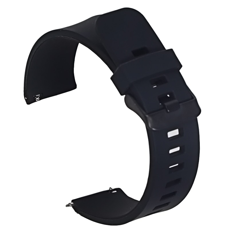 AliExpress - 18mm 20mm 22mm  Silicone Band Strap Quick Release Watchband Bracelet for Samsung Active 2 Huami Huawei Smart Watch
