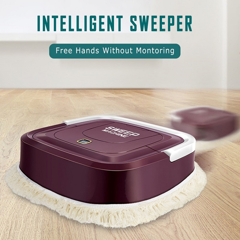 Aspiradora inteligente, aspiradora robótica, aspiradora automática, escoba de pelo limpio, escoba, máquina de mopas