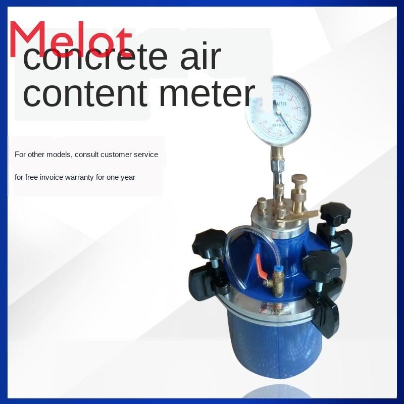 الخرسانة محتوى الهواء متر CA-3 القراءة المباشرة الخرسانة محتوى الهواء متر شاشة ديجيتال كشف محتوى الهواء