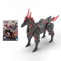 bandai gundam model kit anime figure sd gundam world heroes army horse genuine action toy figure toys for children