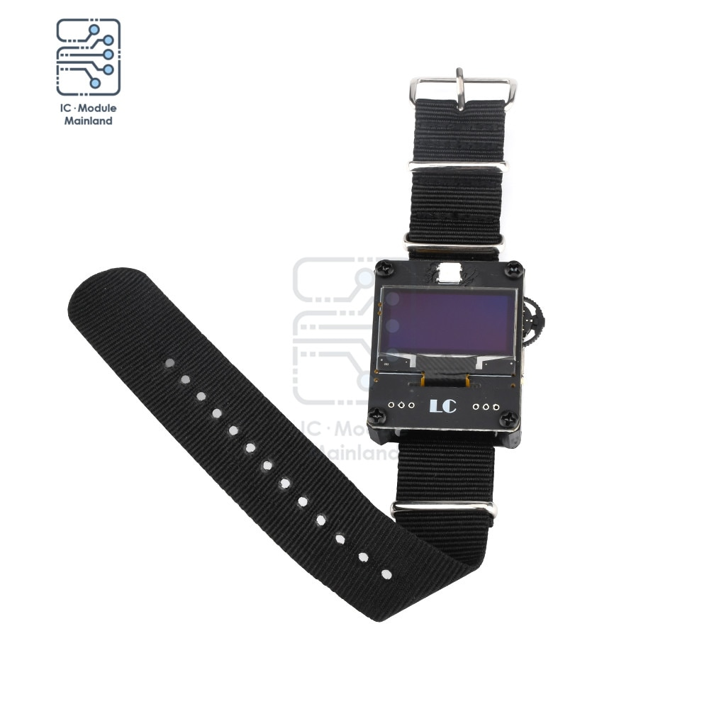 OLED Display WiFi Deauther Watch Kit ESP8266 WiFi Watch Programmable Development Board for Arduino Kit
