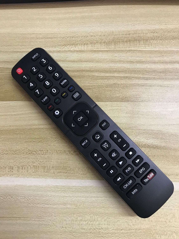 Mando a distancia inteligente para televisor Hisense, Control remoto para televisión HDTV...