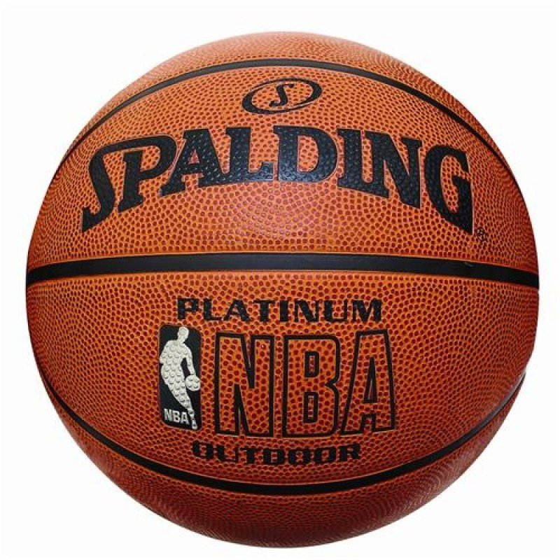 Ballon de basket-Ball Spalding NBA platine No7