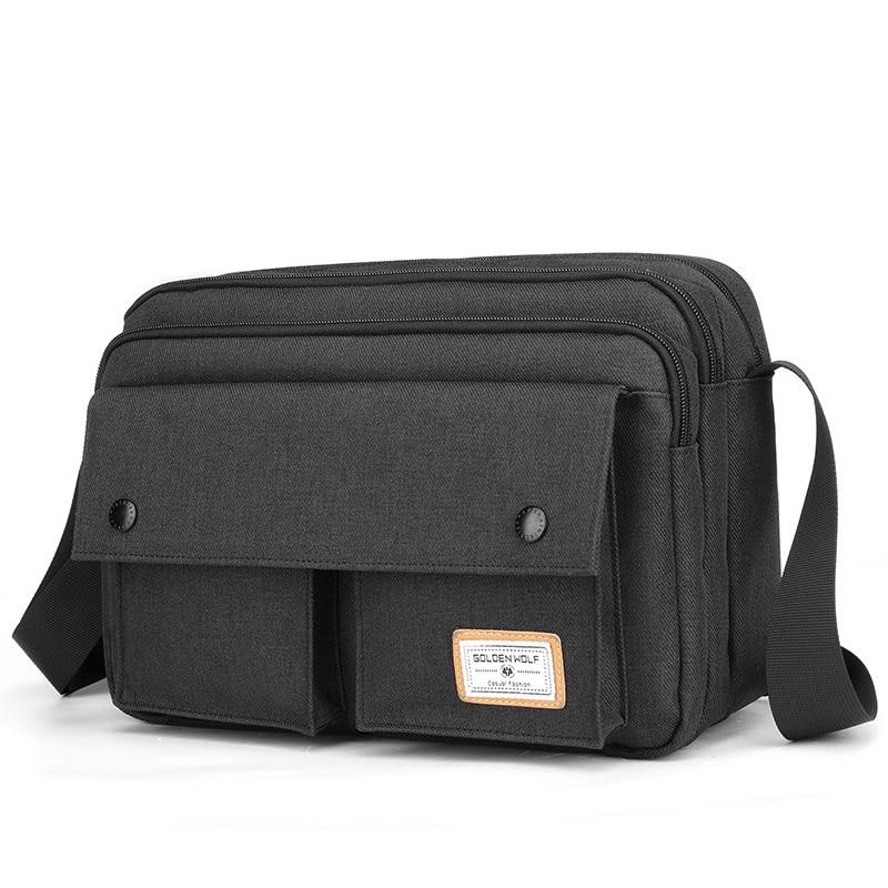 Полиэстеровая сумка через плечо, Мужская многофункциональная сумка через плечо, прочная новая модная стильная сумка через плечо, 2021 yuzefi сумка через плечо