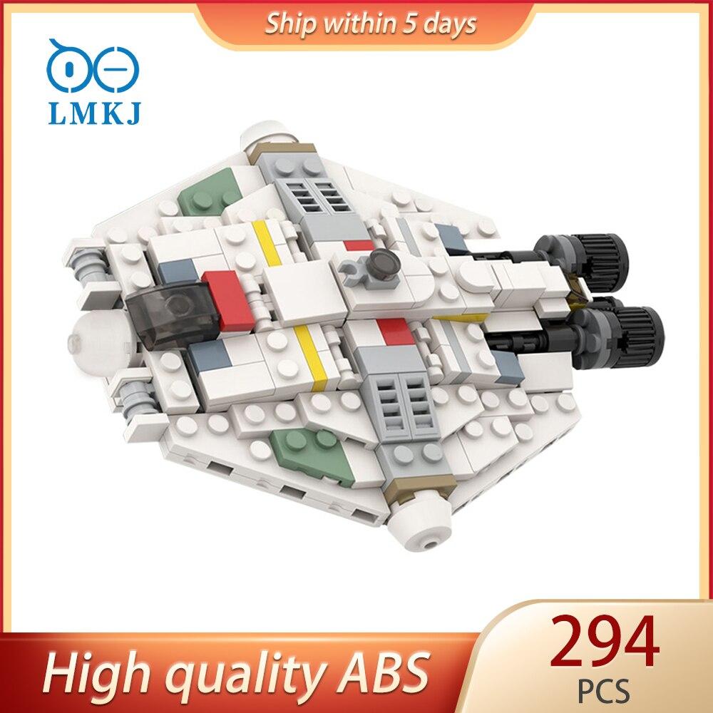 Цифровой живописи модульная строительные блоки MOC-50605 звезда игрушки повстанцы корабль призрак X совместимые игрушки модульный кирпичи для ...