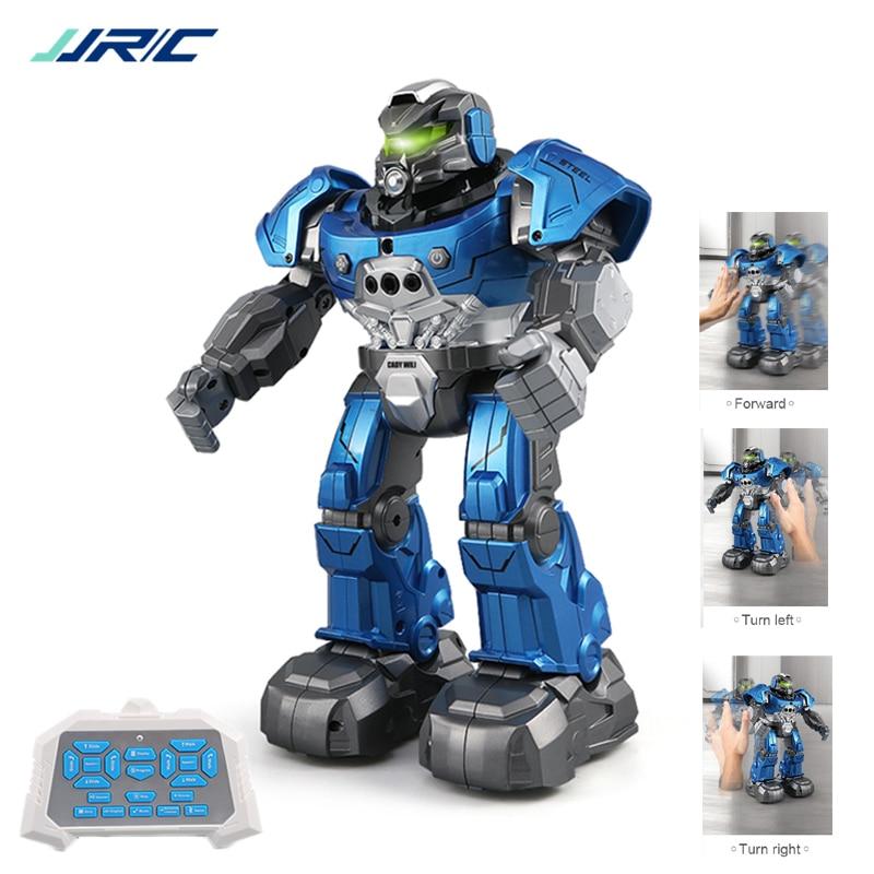 Robot inteligente JJRC R5, programable, Auto, música, baile, Robot RC para niños, reloj inteligente, sigue el Sensor de gestos, juguetes RC Robo