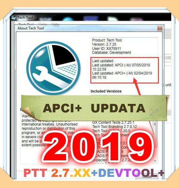 2019 tecnologia ferramenta ptt v2.7.25 vcads desenvolvimento + devtool plus + apci + baixar & instalação por teamviewer para volvo diagnóstico