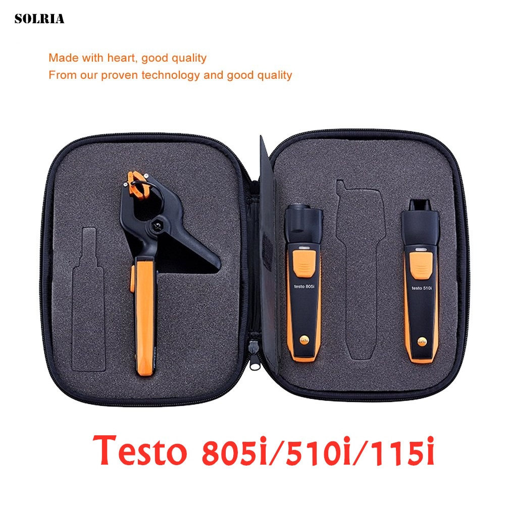 Testo-مشعب تشخيصي ذكي ، لاسلكي ، بلوتوث ، لتكييف الهواء ، التبريد ، قياس الضغط الإلكتروني
