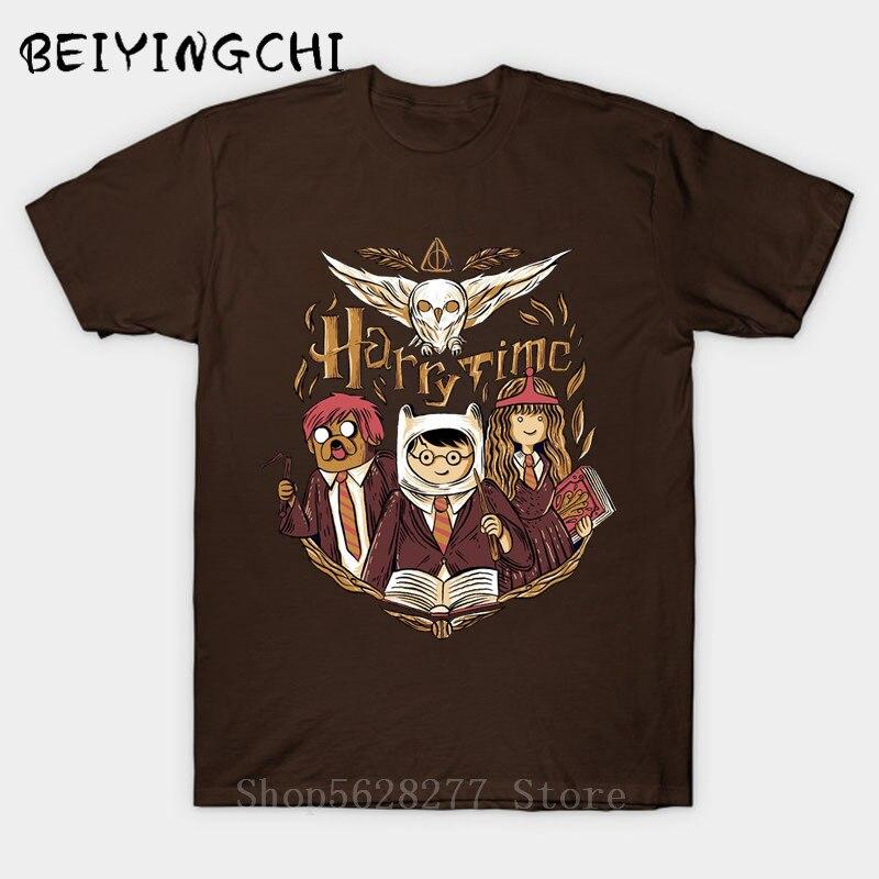 Camisetas 3D Harry Time LOVE Tops THE END IS NEAR para hombres Potter-Lover Camiseta estampada de manga corta Camiseta de algodón 100% impresionante de verano