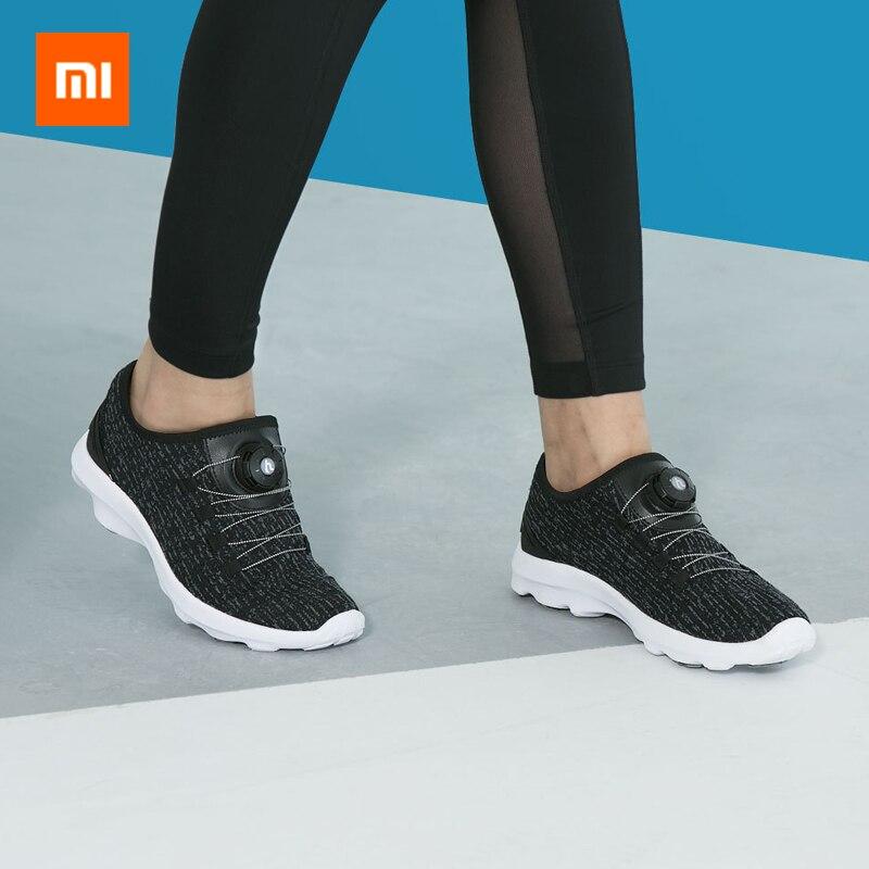 Xiaomi hyber homens sapatos esportivos respirável casual moda luz correndo mulheres snakers para mijia youpin casa