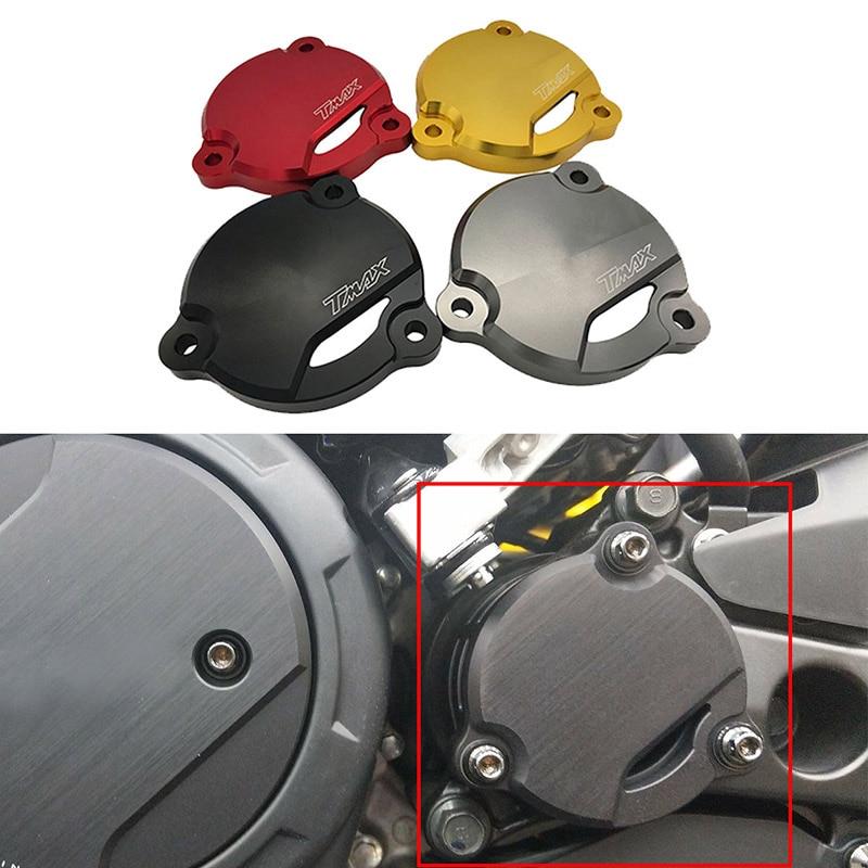 Accesorios para motocicleta tmax530, cubierta protectora para eje de transmisión frontal con orificio para Yamaha t-max Tmax 530 DX SX 2012-2018 2019