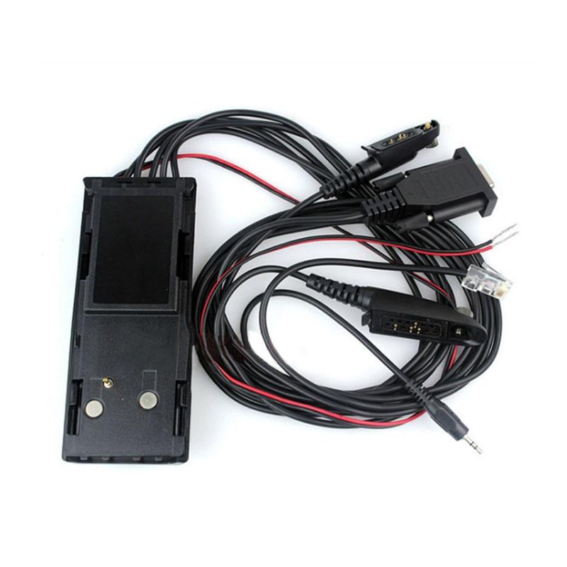 10 قطعة جديد 5 في 1 العالمي البرمجة كابل ل راديو لاسلكي تخاطب موتورولا GP1280 GP320 GP328 GP339 GP360 اتجاهين راديو