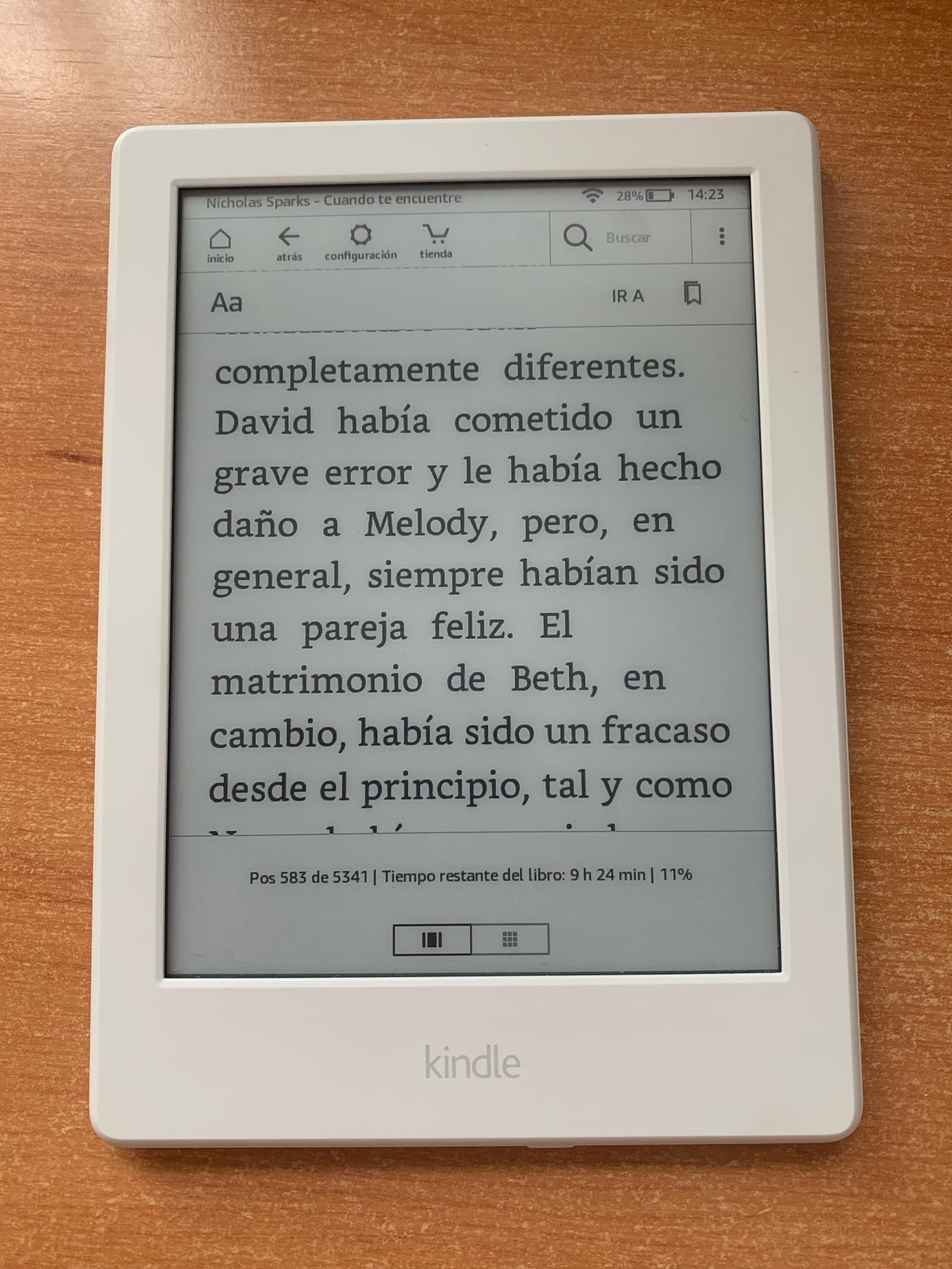 Kindle 8 6 4G Registerable E-Book Reader Touch Screen Ebook Without Backlight  eink e-ink 6 inch Ink Screen E Book enlarge