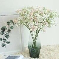 Bouquet de fleurs sechees naturelles 1 pieces  Bouquet de vraies fleurs colorees pour decoration de mariage a domicile