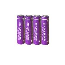 5 pièces 3.6V AAA Lithium Batteries ER10450 700mah Li-SCLO2 batterie supérieure à LR03 R03P pour compteur utilitaire/GPS alarme/équipement de sécurité