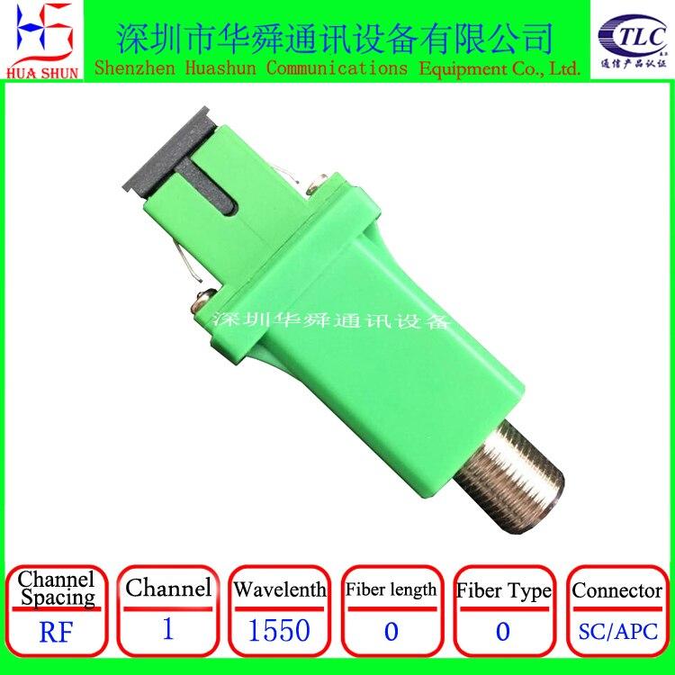 Receptor óptico ftth catv macho/hembra tipo a conector SC/APC, receptor óptico digital, minireceptor óptico FTTH para interiores