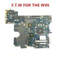 Carte mère Dell Latitude E6520 pour ordinateur portable, CN-0T5KFM 0T5KFM T5KFM PAL61, LA-6561P, 100%, fonctionne bien