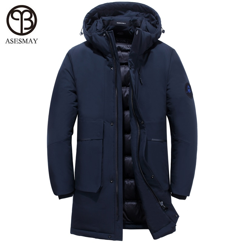 2019 chaqueta de invierno para hombre abrigo parka para hombre para Europa pluma de ganso de wellensteyn abrigo impermeable grueso de calidad larga