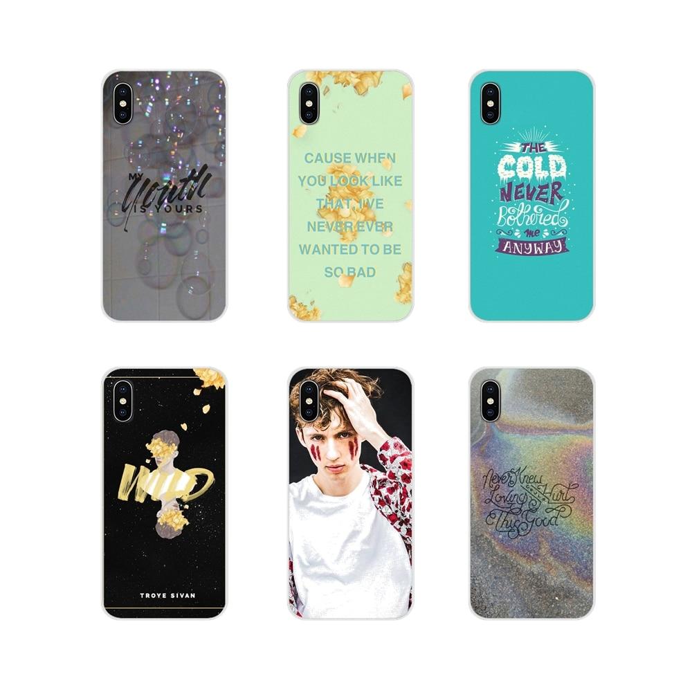 Unlock Me Troye Sivan Wild For Xiaomi Redmi Note 3 4 5 6 7 8 Pro Mi Max Mix 2 3 2S Pocophone F1 Accessories Phone Cases Covers