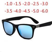 Men's Polarizing Sunglasses Classic Square Glasses Driving UV400 Goggles Prescription Glasses -0.5 -