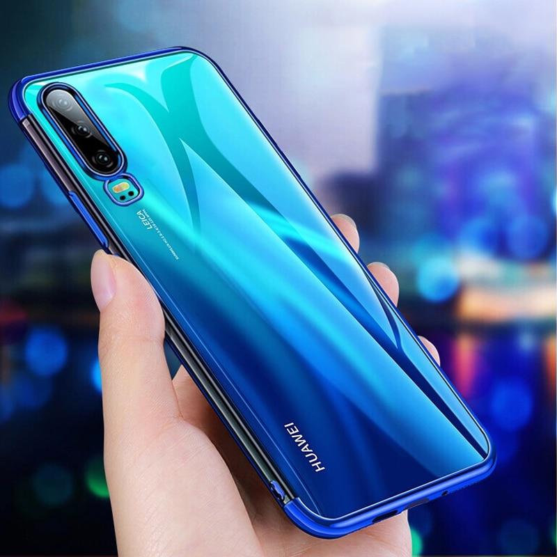 Para Huawei Nova 5T 5 5i 7i P40 Lite Honor 20S 20 V30 Pro 9X 8X 10 Lite 8A 10i caso de silicona P Smart Z Y9 primer 2019