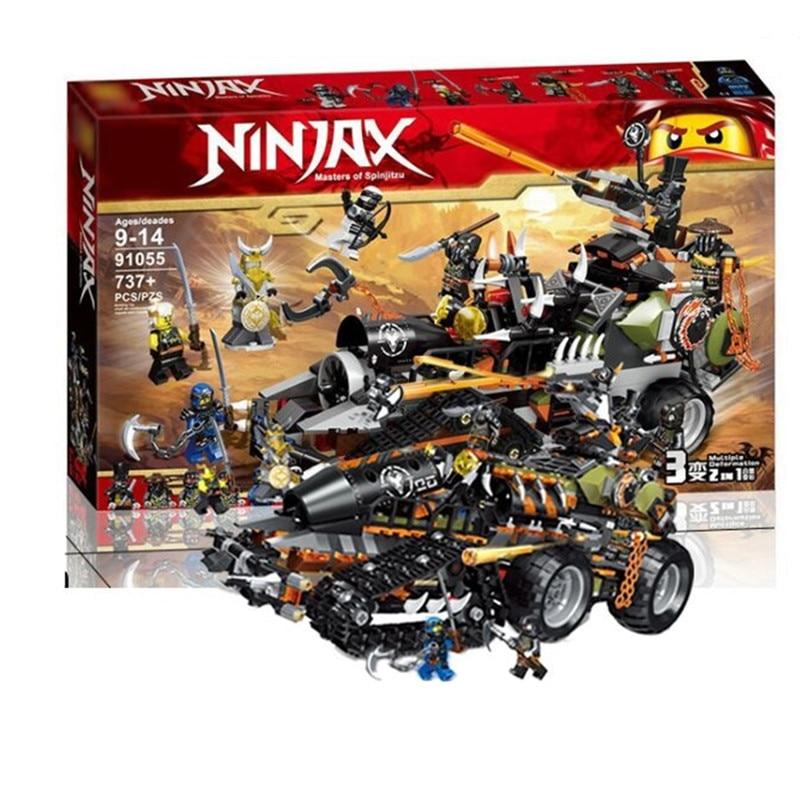 Nuevo, 2020, Compatible con leLepining Ninjagoes, Guerrero Dragón, conjuntos de construcción de vehículos para niños, bloques, modelo para niños, juguetes educativos