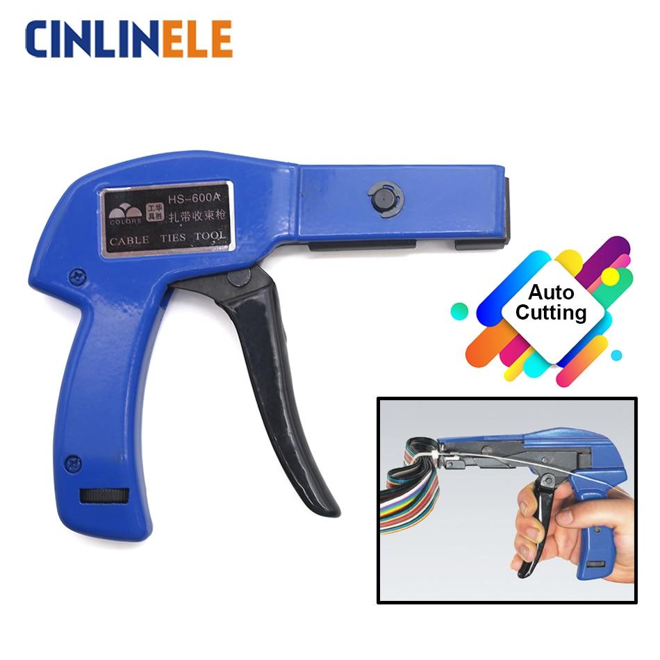 Инструмент Для стяжки кабелей 2,4-4,8 мм нейлоновая кабельная стяжка крепление авто резка кабеля и провода быстро инструменты Скоба умный инструмент