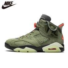Original Air Jordan 6 noir chaussures de basket infrarouge rétro CNY Sport Sneaker TS vert