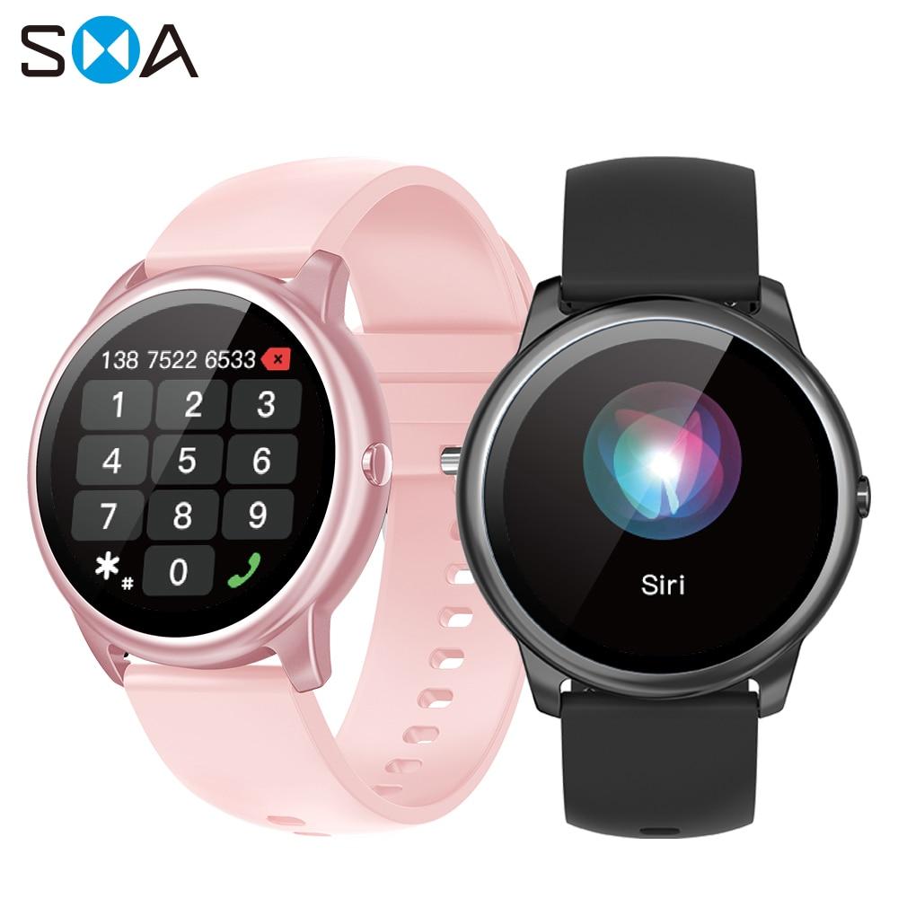 SMA R7 Smart Watch Women Waterproof Fitness 2021 Bluetooth Call Men Smartwatch Watch Mi for Xiaomi A