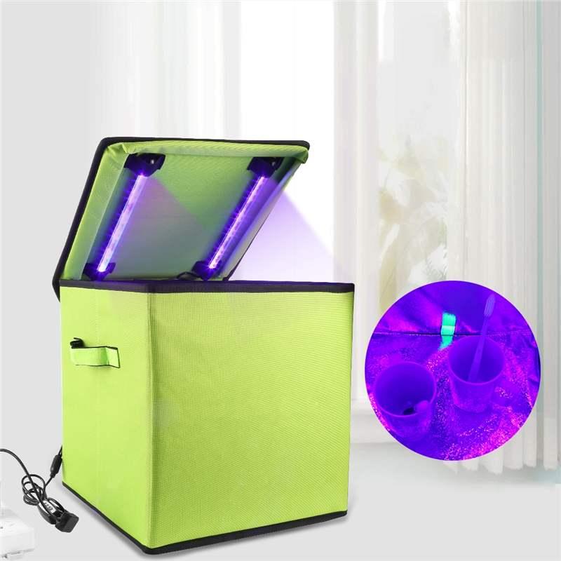 UVC Germicida Sterilizzatore di Disinfezione Tenda Box Salute E Bellezza Pulitore Del Telefono Scatola di Sterilizzazione Per La casa Ufficio Viaggi