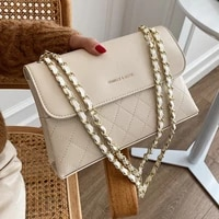 high quality rhombic chain bag 2021 new fashion womens bag autumn leisure all match one shoulder messenger small square bag