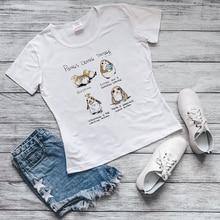 Été 2020 Porg oiseau bébé Yoda Mandalorian T-shirt femmes moive Star Wars T-shirt drôle graphique t-shirts harajuku kawaii T-shirt haut