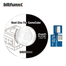 Bitfunx SD2SP2 어댑터 TF 카드 리더 교체 + 스위스 부팅 디스크 미니 DVD Nintendo Gamecube NGC NTSC 용