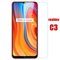 2pcs 9h safety protective glass for oppo realme c3 realmec3 screen protector tempered glass on oppo real me c 3 phone glass