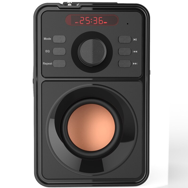Big Subwoofer Wireless Bluetooth-compatible Speaker Super Bass Portable Clock Speakers For Music Center Boombox FM USB AUX enlarge